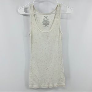 Faded Glory Pink & White Must-Have Tank Top